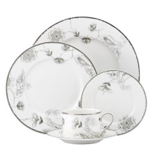 Lenox Paisley Terrace Place Setting - Porcelain, 5-Piece in See Photo - Closeouts