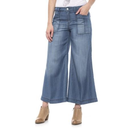 Level 99 Gaucho Pants - TENCEL® (For Women) in Dohen