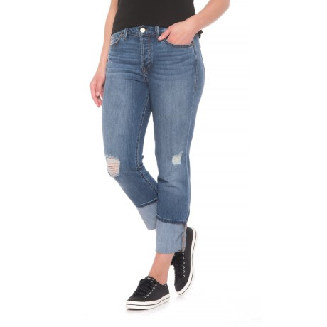 Level 99 Morgan Slouchy Straight Jeans (For Women) in Terac