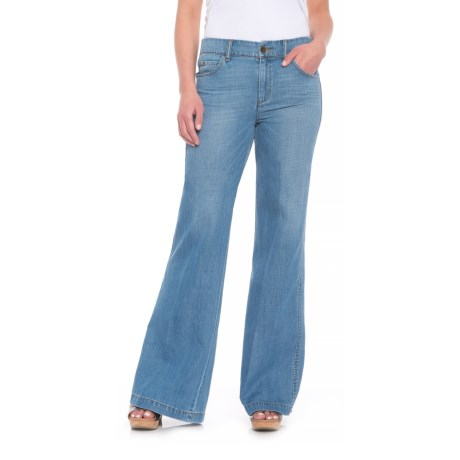 5e763f60f9 Level 99 Tyler Twisted Wide-Leg Jeans (For Women) - Save 51%