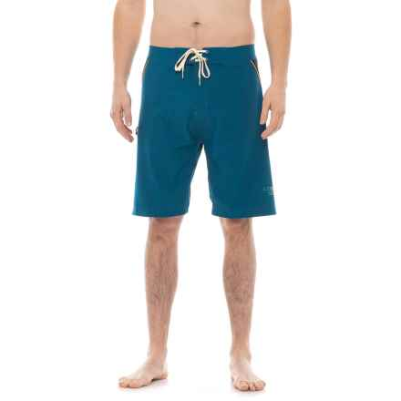 Level Six A-Frame Swim Shorts (For Men) in Posiden - Closeouts