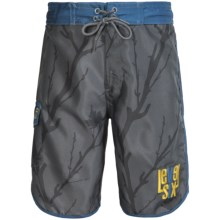 Level Six Amped Boardshorts (For Big Boys) in Castlerock Canadian - Closeouts