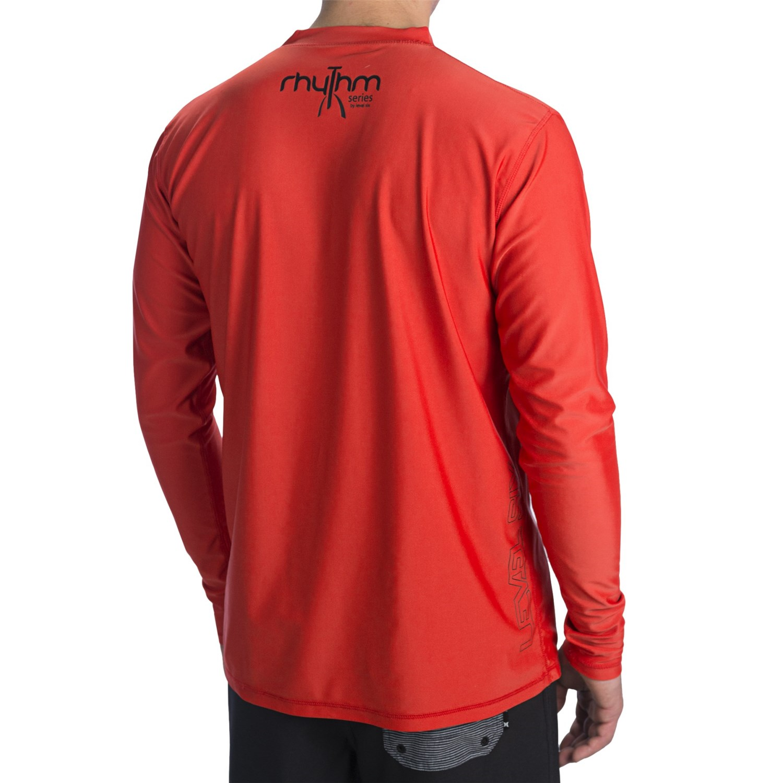 Level six coastal rash guard shirt for men 7384f save 29 for Men s upf long sleeve shirt