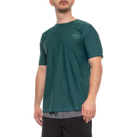4e277cfb Level Six Coastal Rash Guard - UPF 50+, Short Sleeve (For Men)