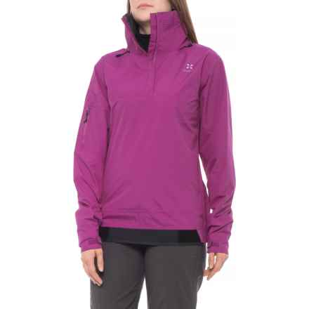 Level Six Ellesmere 2.5 Jacket - Zip Neck, Waterproof (For Women) in Violet - Closeouts