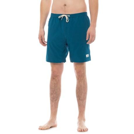 Level Six Griffin Swim Shorts (For Men) in Posiden