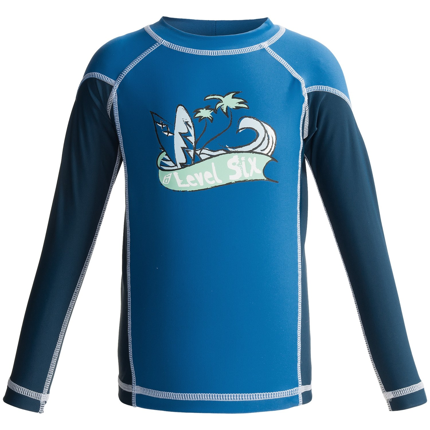 level six luke rash guard shirt upf 50 long sleeve