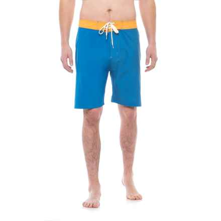 Level Six Presley Swim Shorts (For Men) in True Blue - Closeouts