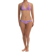 Level Six Silica Bikini - UPF 50+ (For Women) in Acute Wave - Closeouts