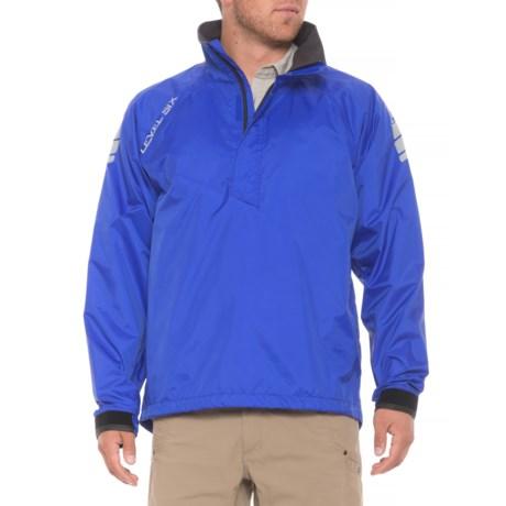 Level Six Solent 2.0 Jacket - Waterproof, Zip Neck (For Men) in Royal Blue