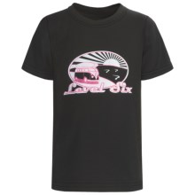 Level Six Surf Van T-Shirt - Organic Cotton, Short Sleeve (For Boys) in Black - Closeouts