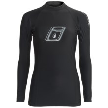 Level Six Venus Rash Guard Shirt - UPF 50+, Long Sleeve (For Women) in Black - Closeouts