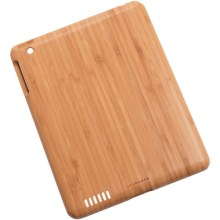 Levenger Nantucket iPad® Case - Bamboo in Bamboo - Closeouts