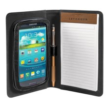 Levenger Samsung S III Work & Play Folio in Black - Closeouts