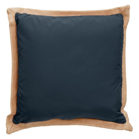 """Levinsohn Solid Outdoor Decor Pillow - 18x18"""" in Navy"""