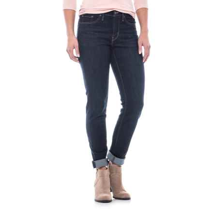 Levi's 311 Shaping Skinny Jeans - Mid Rise (For Women) in Blue - 2nds