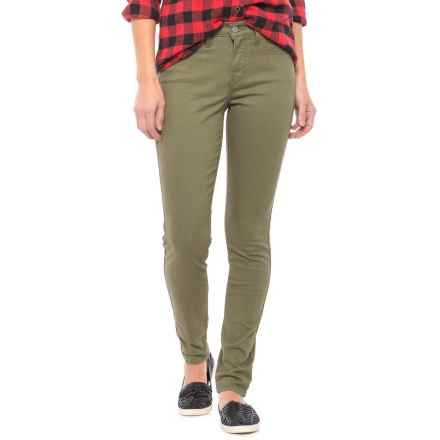 Levi's 311 Shaping Skinny Jeans - Mid Rise (For Women) in Olive - Closeouts