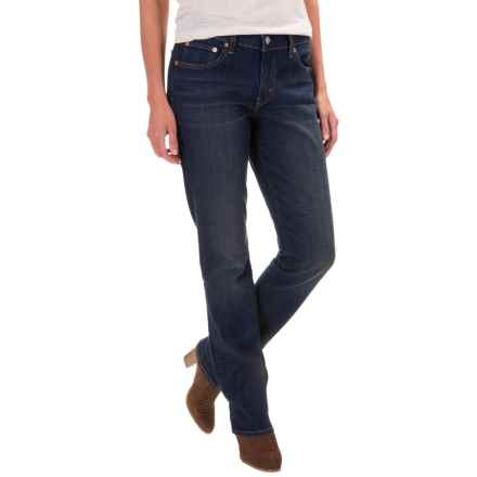 Levi's 414 Jeans - Relaxed Fit, Straight Leg (For Women) in Lost Creek - Closeouts