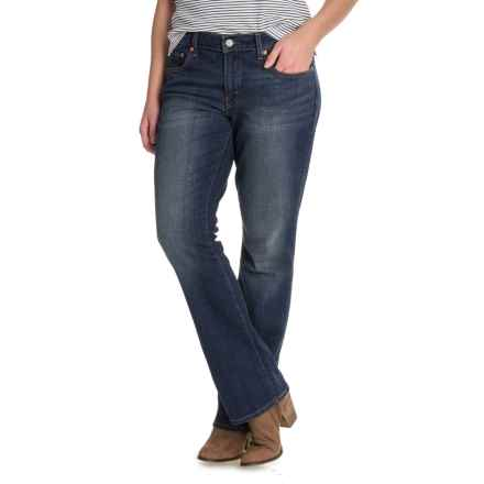 Levi's 415 Relaxed Bootcut Jeans - Mid Rise (For Women) in Treeline - Closeouts