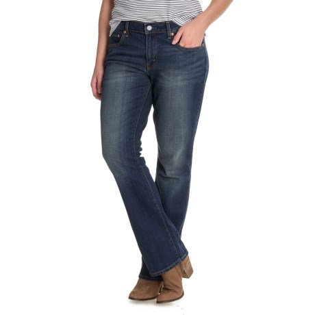 Levi's 415 Relaxed Bootcut Jeans - Mid Rise (For Women)