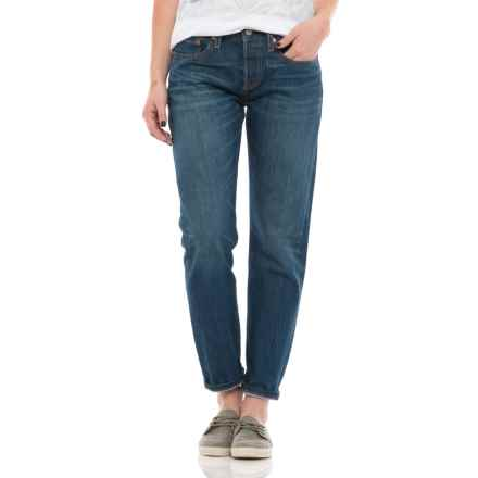 Levi's 501 Tapered Jeans (For Women) in Make Some Noise - Closeouts