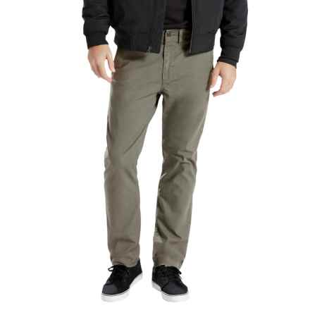 Levi's 502 Regular Taper Fit Chinos (For Men) in Dusty Green - Closeouts