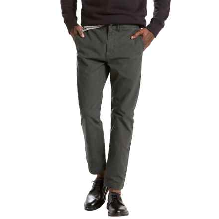 Levi's 502 Regular Taper Fit Chinos (For Men) in Graphite - Closeouts