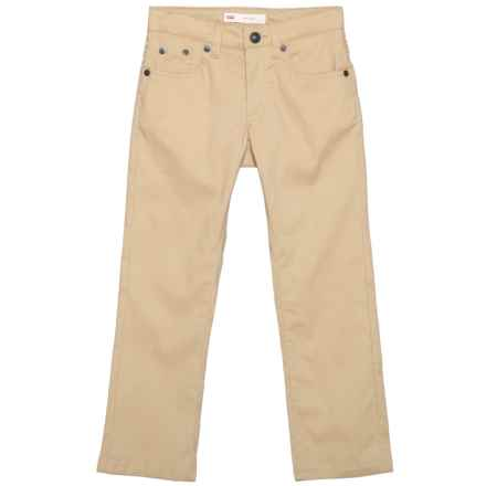 511 Adventure Pants (For Little Boys) in Pale Khaki - Closeouts