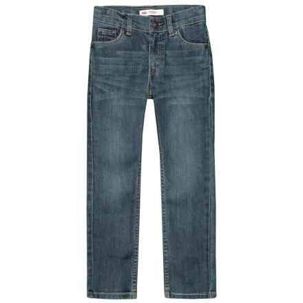 511 Performance Jeans (For Little Boys) in Evans Blue - Closeouts