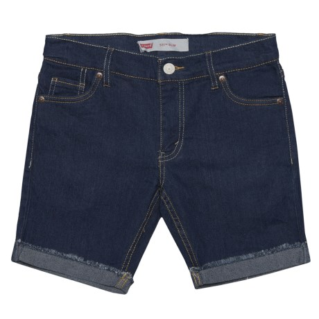 Levi's 511 Slim Cut-Off Shorts (For Big Boys) in Overboard