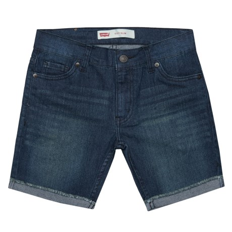 Levi's 511 Slim Cut-Off Shorts (For Little Boys) in Monterey Bay