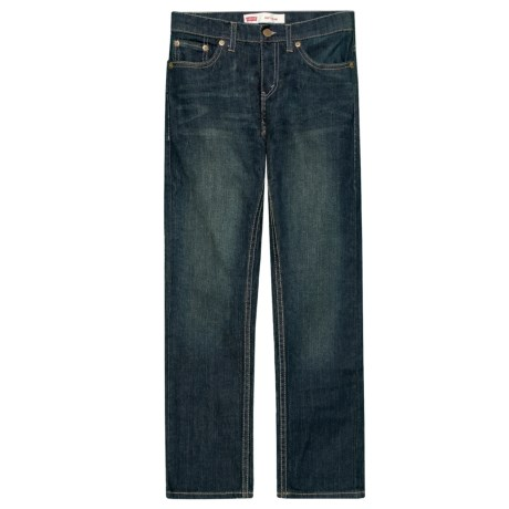 Levi's 511 Slim Fit Jeans (For Big Boys) in Dirtied Stretch