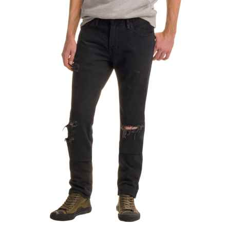 Levi's 511 Slim Fit Jeans (For Men) in Black Dell - Closeouts