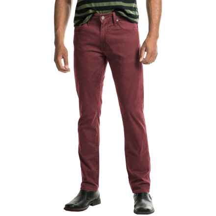 Levi's 511 Slim Fit Jeans (For Men) in Merlot - Closeouts