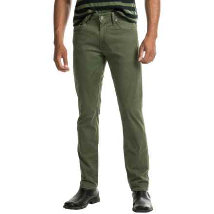 Levi's 511 Slim Fit Jeans (For Men) in Timberline Olive Motion - Closeouts