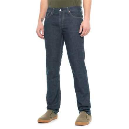 511 Slim Straight Jeans (For Men) in Blue Rinse