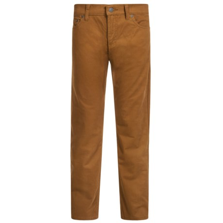 Levi's 511 Sueded Slim Pants (For Big Boys)