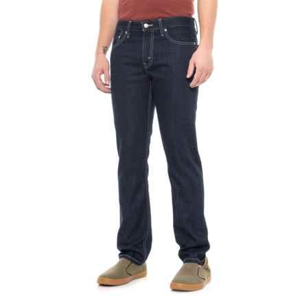 513 Slim Straight Jeans (For Men) in Blue Dark Wash