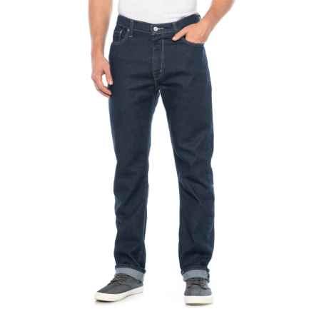 513 Slim Straight Jeans (For Men) in Blue Rinse