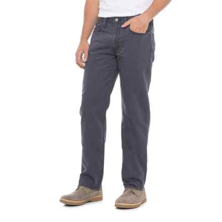 514 Straight Fit Pants (For Men) in Charcoal - Closeouts