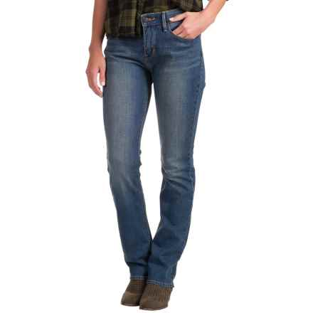 Levi's 525 Perfect Waist Jeans - Straight Leg (For Women) in Scenic Vista - 2nds