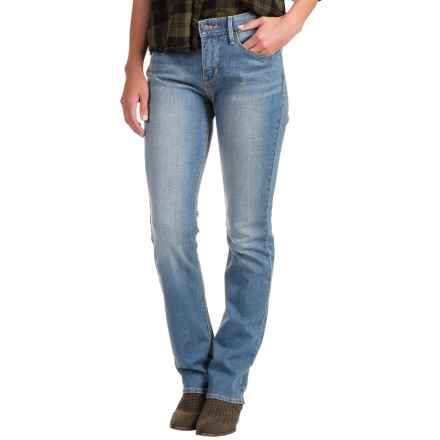 Levi's 525 Perfect Waist Jeans - Straight Leg (For Women) in Sky - 2nds