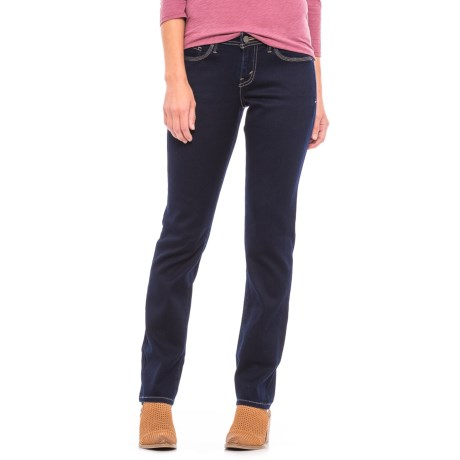 Levi's 529 Curvy Skinny Jeans - Mid Rise (For Women) in Blue Mine