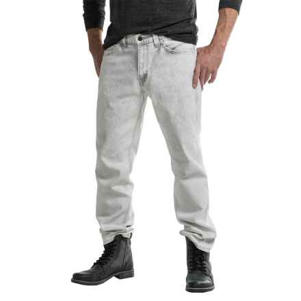 Levi's 541 Athletic Fit Line 8 Jeans - Relaxed Fit (For Men) in Dirty White - Closeouts