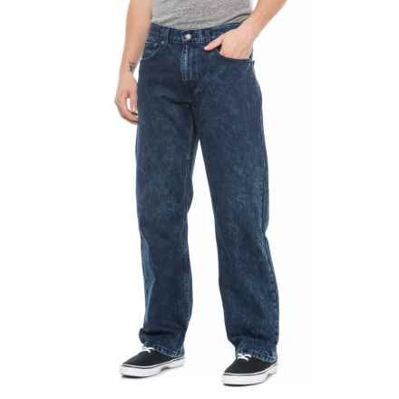 569 Loose Fit Straight-Leg Jeans (For Men) in Dark Blue - Closeouts