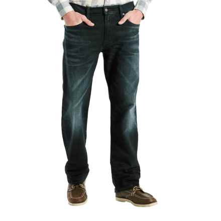Levi's 569 Loose Straight Stretch Jeans - Straight Leg (For Men) in Scorpius - Closeouts