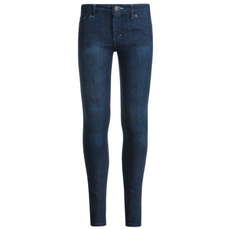 Levi's 710 Super Skinny Jeans (For Big Girls) in Tailored Indigo