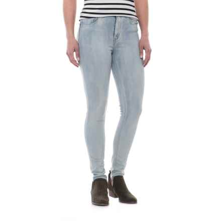 Levi's 721 High-Rise Skinny Jeans (For Women) in Fades Blue - 2nds