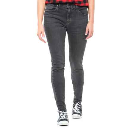 Levi's 721 Skinny Jeans - High Rise (For Women) in 048 Grey Game - Closeouts