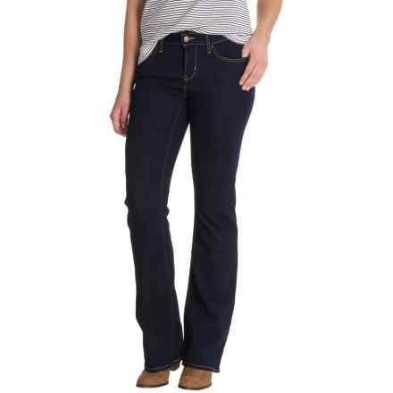 Levi's 815 Curvy Fit Jeans - Mid Rise, Bootcut (For Women) in Cast Shadows - Closeouts